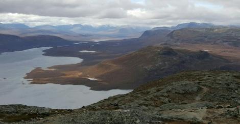 Views from Saana fell. Finnish Lapland, September 2016.
