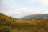West Highland Way: en route from Tyndrum to Kingshouse. October 2015.