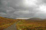 West Highland Way: Rannoch Moor. October 2015.