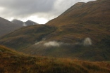 West Highland Way: en route from Kingshouse to Kinlochleven. October 2015.