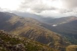 View from Ben Nevis. October 2015.