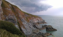 South West Coast Path, Devon. June 2014.