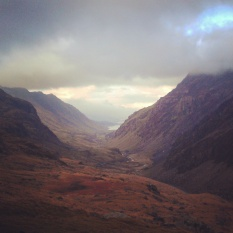Snowdonia National Park. Wales, February 2015.