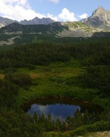 National Park of High Tatras. Poland, July 2017.