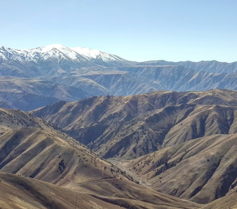 Ugam-Chatkal National Park, Tien Shan mountain system. Uzbekistan, October 2017.