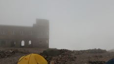 Old meteo station in base camp.