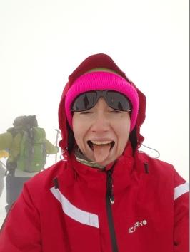 The elegance of the summit joy.