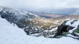 View from the top of Jacob's Ladder. Cairngorms, Scotland, March 2017.