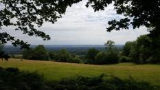 Kentish meadow curves.
