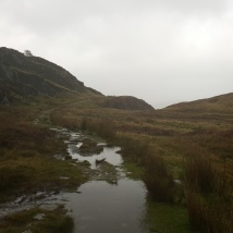The path up Moel Siabod.
