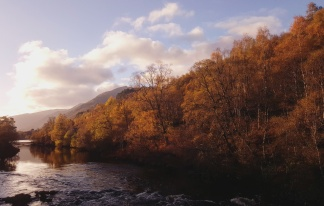 Affric Kintail Way. Scotland, October 2017.