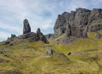 The Old Man of Storr. Isle of Skye, Scotland, May 2918.