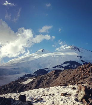 Mount Elbrus, Russia. August 2018.