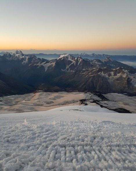 Mount Elbrus, Russia. August 2018.