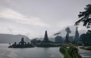 Ulun Danu Beratan Temple, Bali. February 2019.