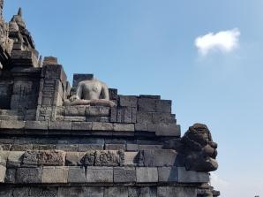 Borobudur Temple, Java, Indonesia. February 2020.
