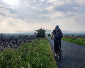 Yorkshire on a bike. England, August 2020.